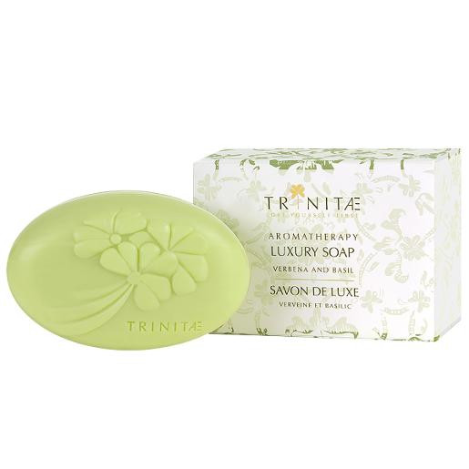 Moisturizing Luxury Soap Verbena with Basil Enriched with Dead Sea Minerals and Shea Butter Luxus Seife