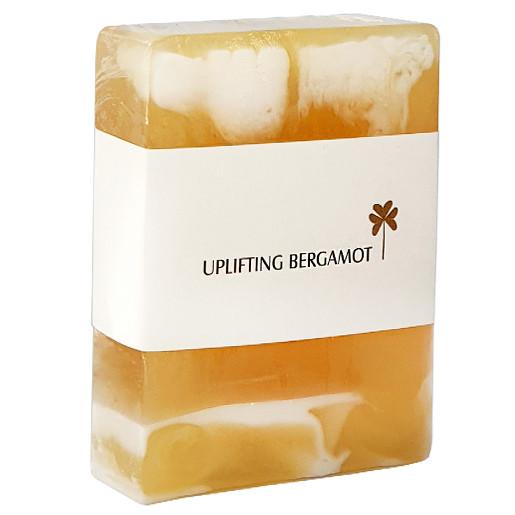 Trinitae aromatherpy glycerin soap uplifting begamot
