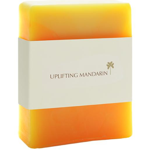 Aromatherapy Handmade Soap Uplifting Mandarin