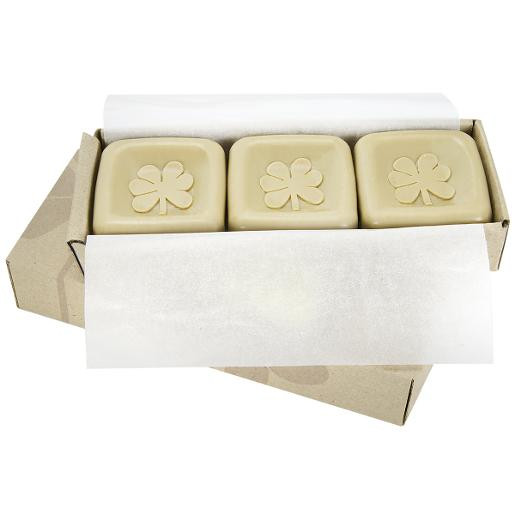 3 TRIPLE MILLED Dead Sea Mineral Soap with Apricot Seed Powder