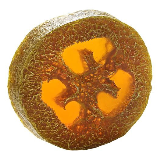 Aromatherapy Foot Loofah Soap Sweet Orange