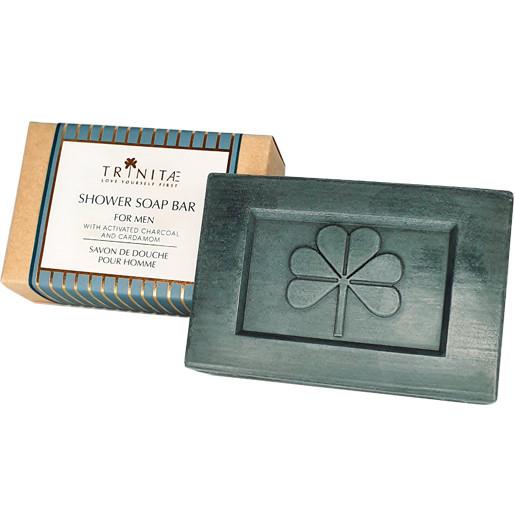 Essential Oils e Shower soap bar for men aktive kohle seife luxus