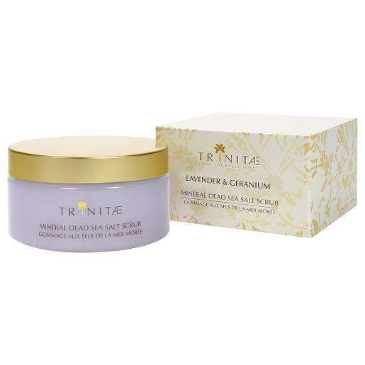 Mineral Dead Sea Salt Scrub Lavender & Geranium