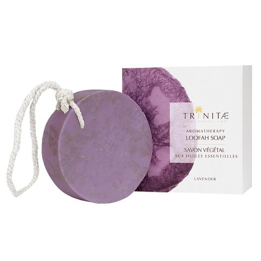 Aromatherapy Loofah Soap Lavender