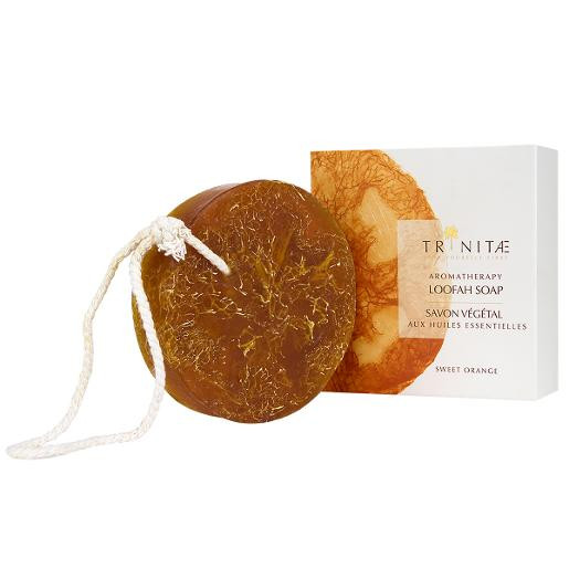 Aromatherapy Loofah Soap Sweet Orange