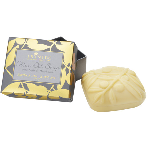 Trinitae Olivenoel seife Olive oil soap with oud Patchouli
