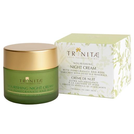 Trinitae Nourishing Night Cream with Pomegranate & Rose