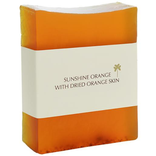Aromatherapy Handmade Soap Sunshine Orange