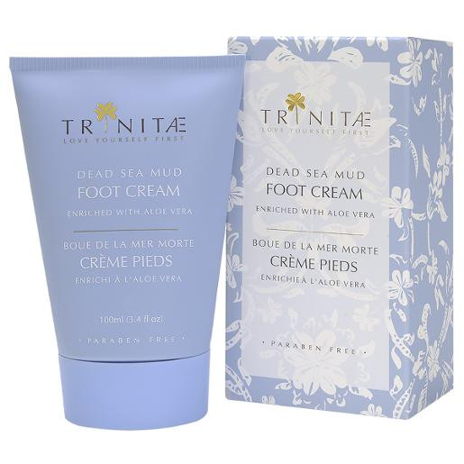 Dead Sea Mud Foot Cream Enriched with Aloe Vera